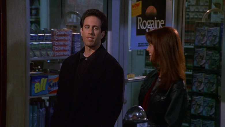 """Close-Up and Rogaine in Seinfeld Season 9 Episode 18 """"The Frogger"""""""