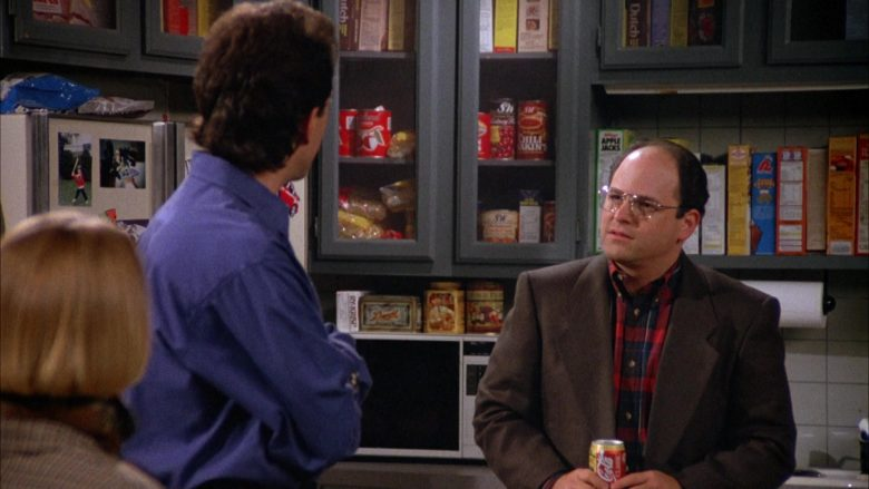 Coca-Cola Can Held by Jason Alexander as George Costanza in Seinfeld Season 4 Episode 7