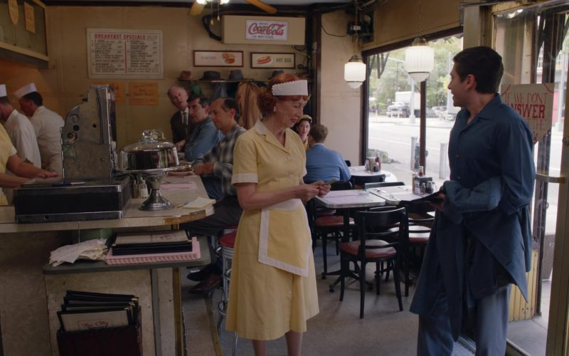 Coca-Cola Sign in The Marvelous Mrs. Maisel Season 3 Episode 8