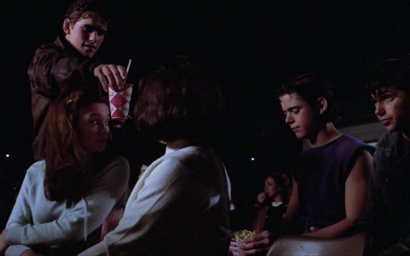 Coca-Cola Soda Cup Held by Matt Dillon in The Outsiders