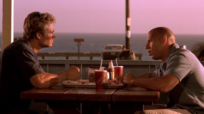 Coca-Cola Soda Enjoyed by Paul Walker & Vin Diesel in The Fast and the Furious (2)