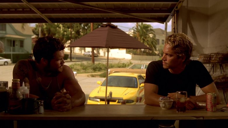 Coca-Cola Soft Drink Enjoyed by Paul Walker in The Fast and the Furious (2)