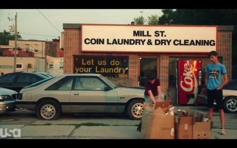 Coca-Cola Vending Machine in Dare Me Season 1 Episode 1 Coup D'État