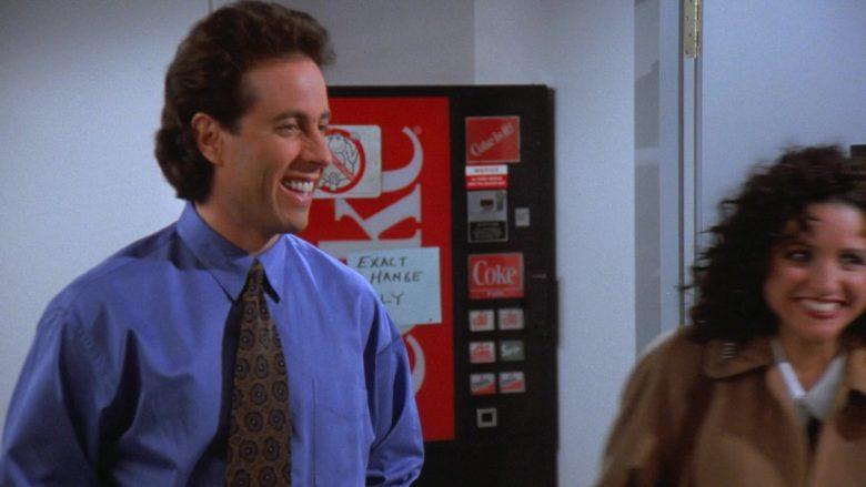 Coca-Cola Vending Machine in Seinfeld Season 7 Episode 17 The Doll (1)