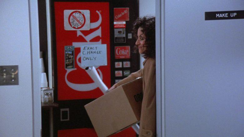 Coca-Cola Vending Machine in Seinfeld Season 7 Episode 17 The Doll (2)