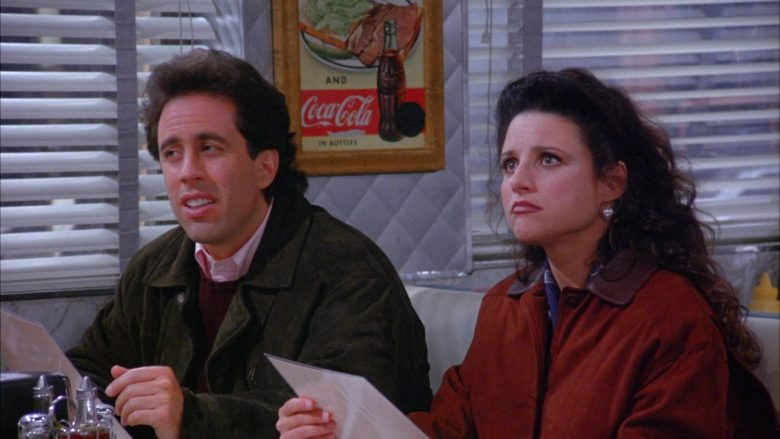 Coca-Cola Vintage Poster in Seinfeld Season 6 Episode 7 The Soup (2)