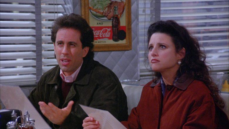 Coca-Cola Vintage Poster in Seinfeld Season 6 Episode 7 The Soup (3)