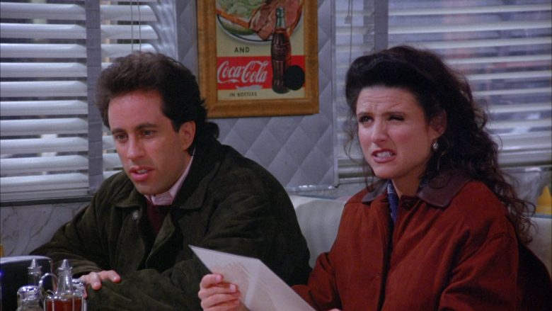 Coca-Cola Vintage Poster in Seinfeld Season 6 Episode 7 The Soup (4)
