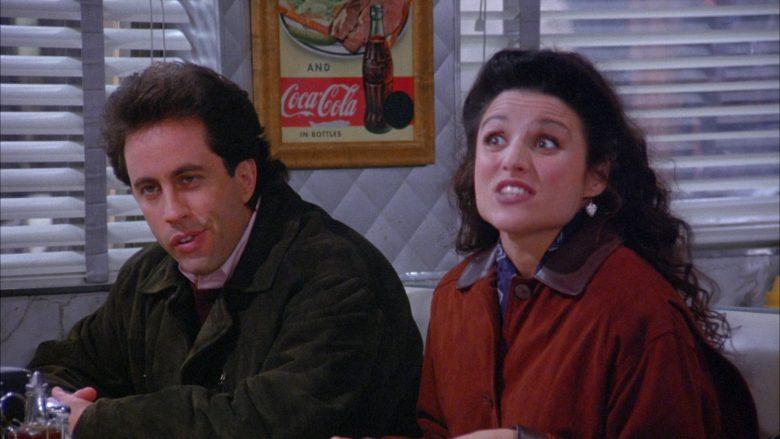 Coca-Cola Vintage Poster in Seinfeld Season 6 Episode 7 The Soup (5)