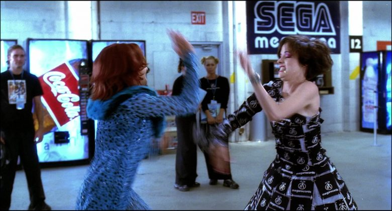 Coca-Cola and Sega in Josie and the Pussycats (2001) Movie