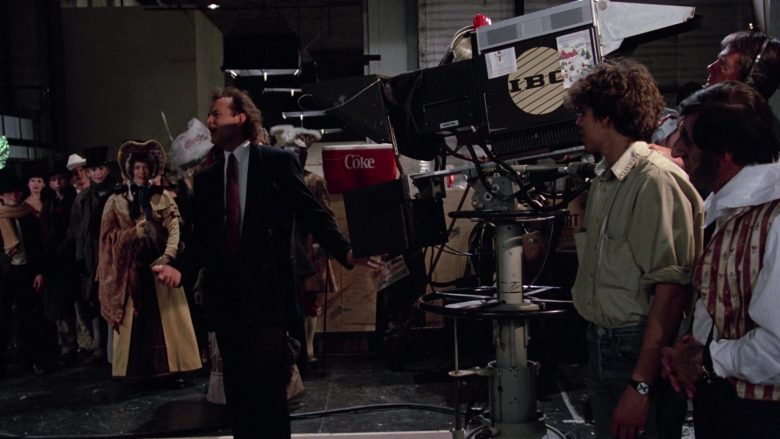 Coca-Cola in Scrooged (1)