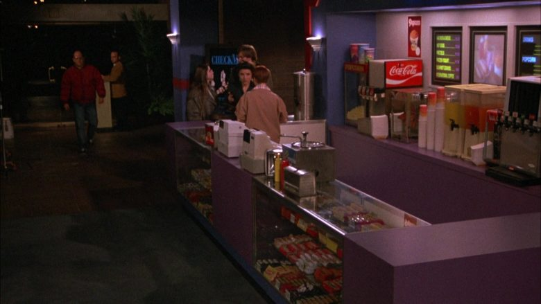 Coca-Cola in Seinfeld Season 4 Episode 14 The Movie