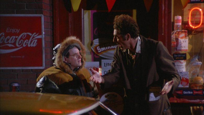 Coca-Cola in Seinfeld Season 5 Episode 13 The Dinner Party (3)