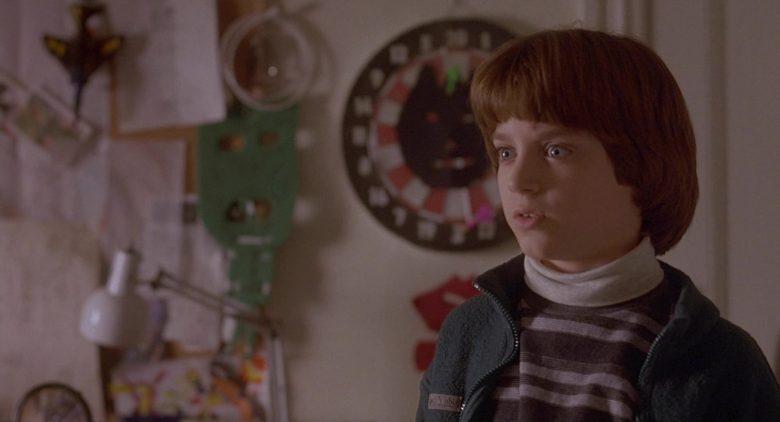 Columbia Fleece Full Zip Jacket Worn by Elijah Wood as Mark Evans in The Good Son (3)