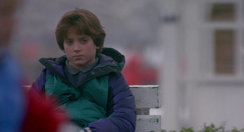 Columbia Green Jacket For Boys Worn by Elijah Wood as Mark Evans in The Good Son (1)
