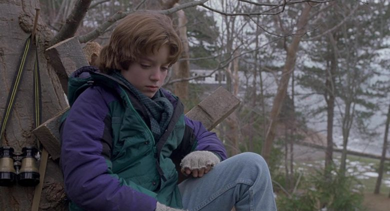 Columbia Green Jacket For Boys Worn by Elijah Wood as Mark Evans in The Good Son (4)