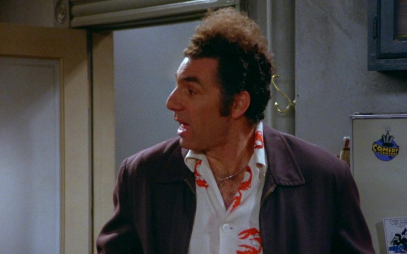 Comedy Central Television Channel Sticker in Seinfeld Season 5 Episode 20