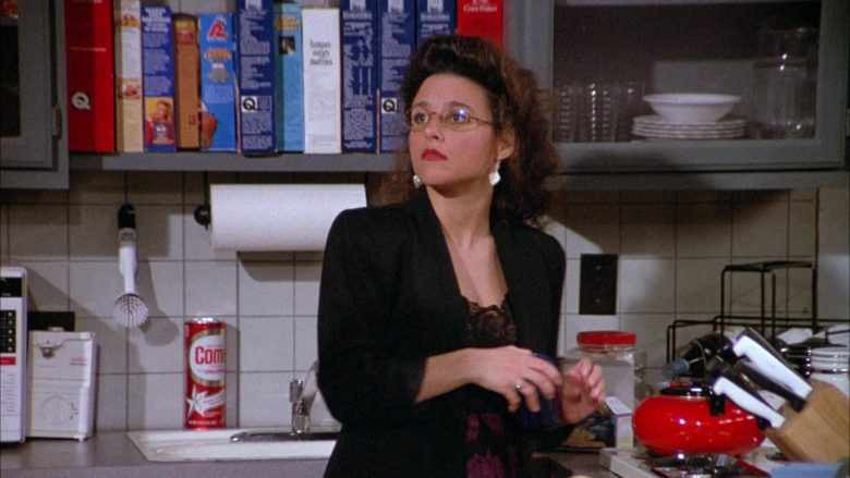Comet Cleaner in Seinfeld Season 3 Episode 17 The Boyfriend (1)