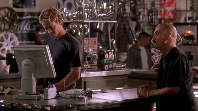 Compaq Computer Monitor Used by Paul Walker as Brian O'Conner in The Fast and the Furious (2)