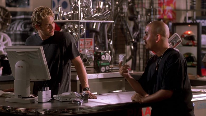 Compaq Computer Monitor Used by Paul Walker as Brian O'Conner in The Fast and the Furious (3)