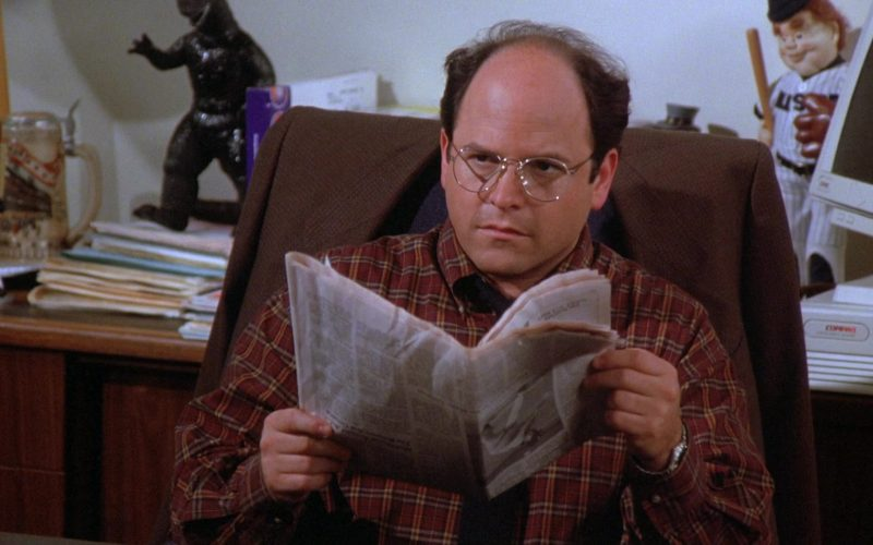 Compaq PC Used by Jason Alexander as George Costanza in Seinfeld Season 7 Episode 5
