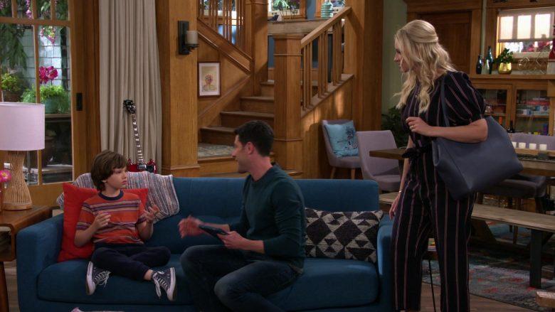 Converse High Top Shoes Worn by Hank Greenspan as Grover Johnson in The Neighborhood Season 2 Episode 10