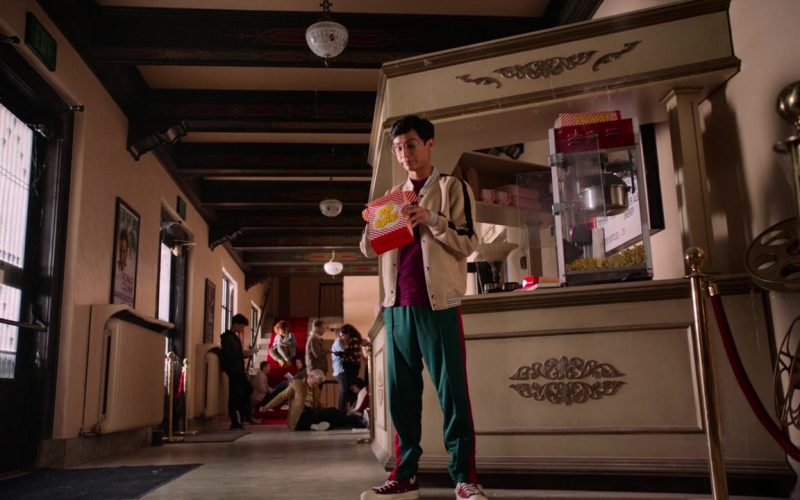 Converse Red Shoes Worn by Frankie A. Rodriguez in High School Musical The Musical The Series Season 1 Episode 8