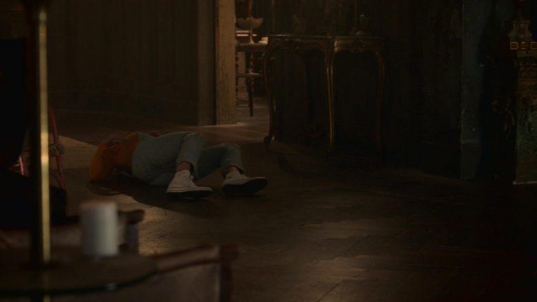 Converse White Shoes Worn by Virginia Gardner as Karolina Dean in Runaways Season 3 Episode 10 (1)