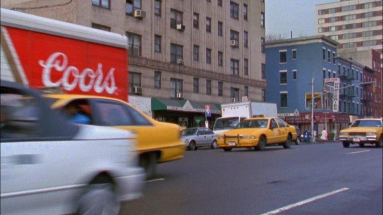 Coors Beer Truck in Seinfeld Season 6 Episode 12 The Label Maker