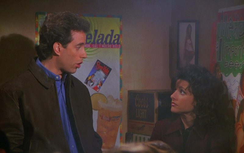 Coors Light Beer Box in Seinfeld Season 8 Episode 11 The Little Jerry