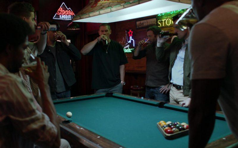 Coors Light Beer Neon Sign in Shameless Season 10 Episode 5 Sparky