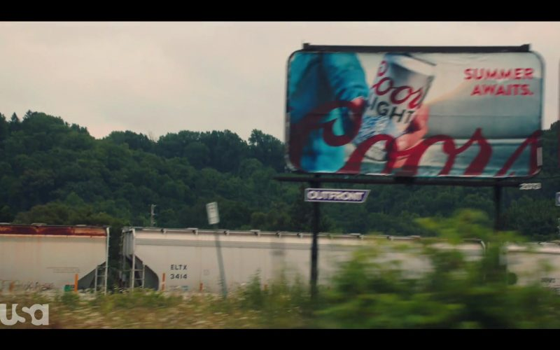 Coors Light Billboard in Dare Me Season 1 Episode 1 Coup D'État (2019)