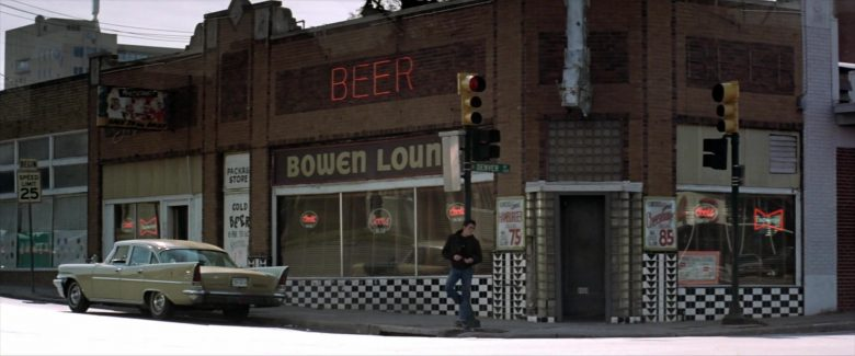 Coors and Budweiser Signs in The Outsiders