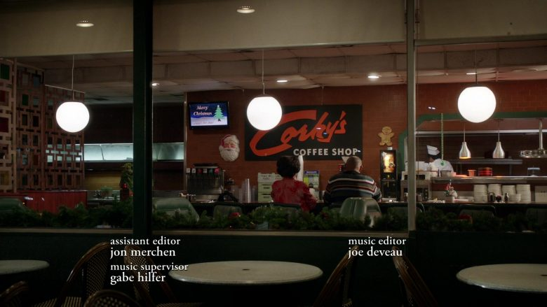 Corky's Restaurant in Black-ish Season 6 Episode 10 Father Christmas (1)