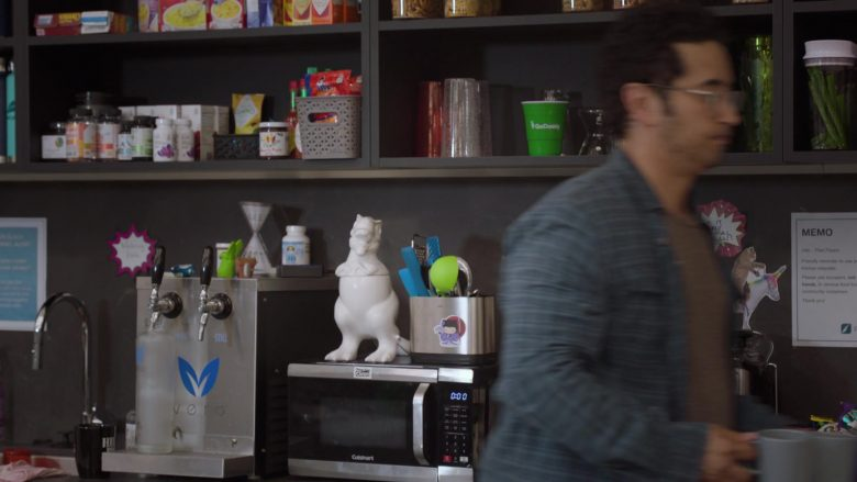 Cuisinart Microwave Oven in Silicon Valley Season 6 Episode 7 Exit Event