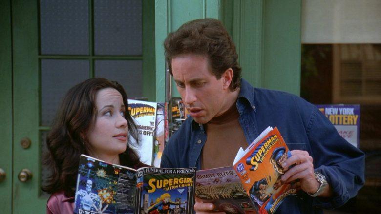 DC Comics in Seinfeld Season 7 Episode 24 The Invitations (1)