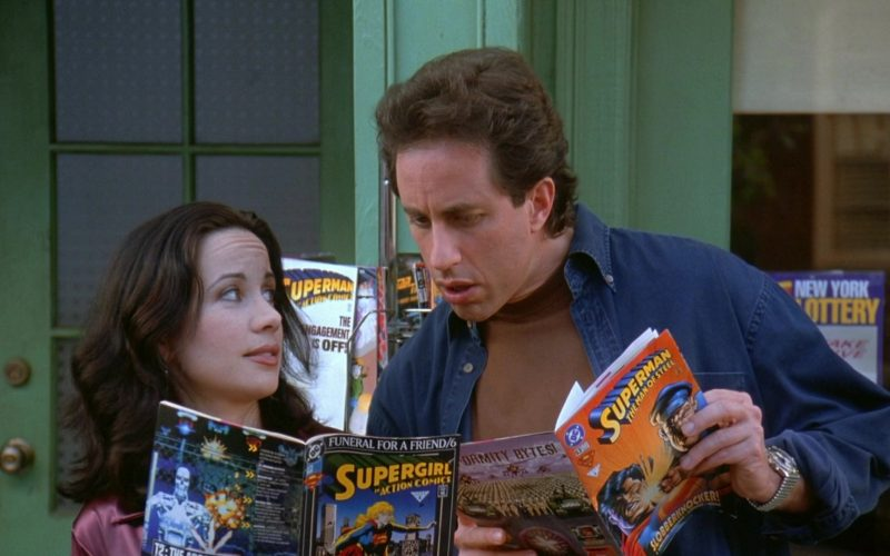 DC Comics in Seinfeld Season 7 Episode 24 The Invitations (1)