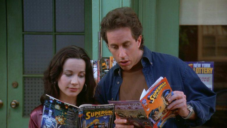 DC Comics in Seinfeld Season 7 Episode 24 The Invitations (2)