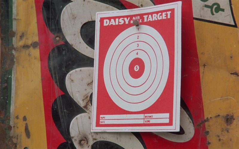 Daisy Air Rifle Target in A Christmas Story (1983)