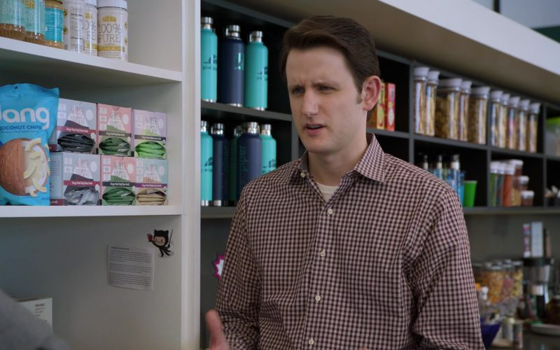 Dang Coconut Chips in Silicon Valley Season 6 Episode 6 RussFest