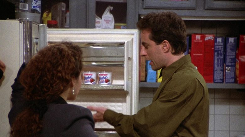 Dannon Light Yogurt in Seinfeld Season 2 Episode 6 The Statue (1)