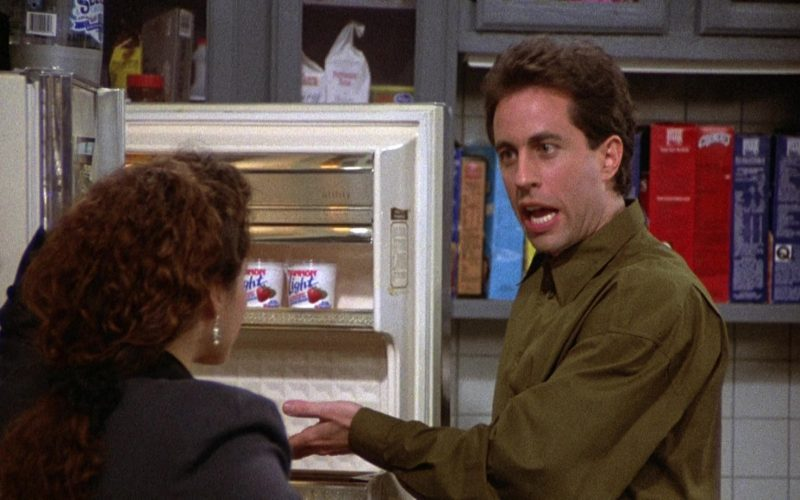 Dannon Light Yogurt in Seinfeld Season 2 Episode 6 The Statue (2)
