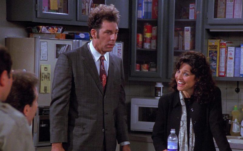 Dannon Water Enjoyed by Julia Louis-Dreyfus as Elaine Benes in Seinfeld Season 8 Episode 13 The Comeback (1)