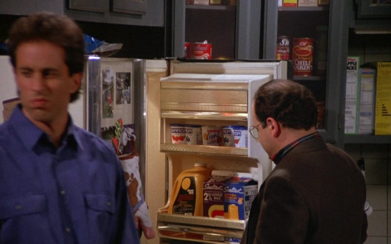 Dannon Yogurts, Minute Maid Juice and Sealtest Milk in Seinfeld Season 4 Episode 7