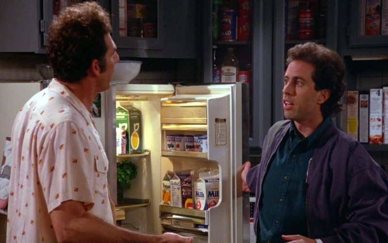 Dannon Yogurts, Pepsi Can, Sealtest Milk and Juices in Seinfeld Season 5 Episode 2