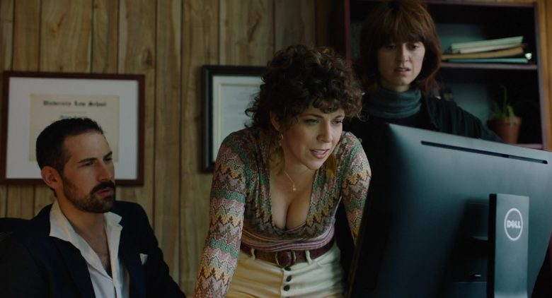 Dell Computer Used by Jen Tullock in Before You Know It (2019) - Movie Product Placement