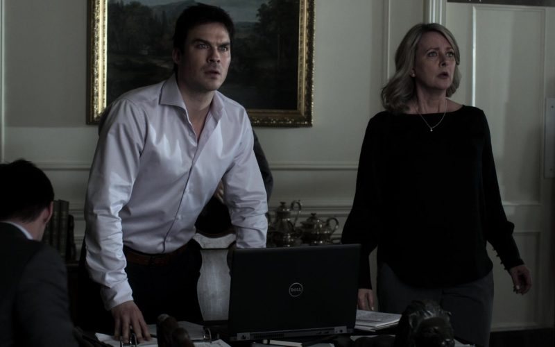 Dell Laptop Used by Ian Somerhalder as Dr. Luther Swann in V Wars Season 1 Episode 10 (3)