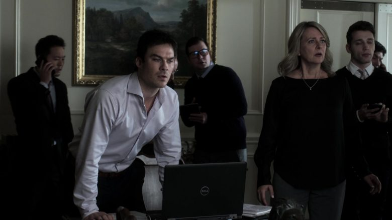 Dell Laptop Used by Ian Somerhalder as Dr. Luther Swann in V Wars Season 1 Episode 10 (4)