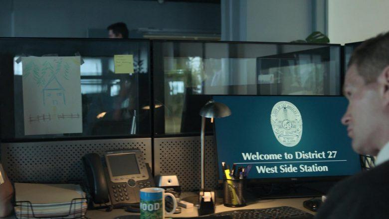 Dell Monitor in Runaways Season 3 Episode 1 Smoke and Mirrors