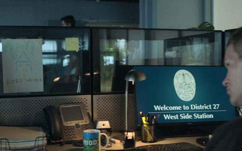 Dell Monitor in Runaways Season 3 Episode 1 Smoke and Mirrors